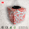 Clay square paper hanging lamp for festival decoration and home decor