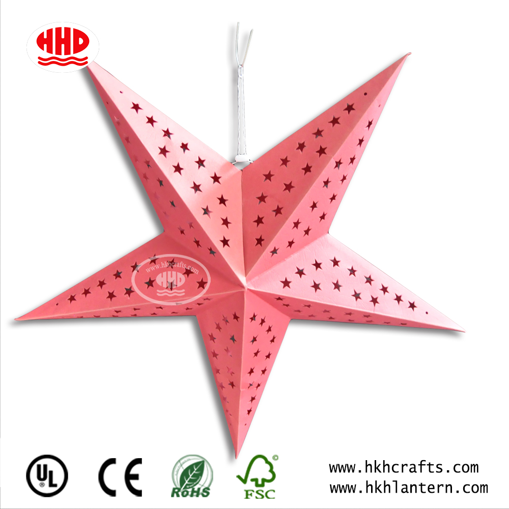 2018 hot sell party favor decoration chinese crafts paper star lanterns