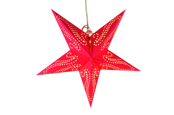 "18"" Diameter Phoenix Tail Cut Out Designed Paper Star Lighting"