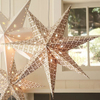 Outdoor Indoor Decoration Christmas Lighting Paper Star Lampshades