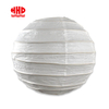 Round Bamboo Fram White Wedding Decoration Lanterns Paper Lantern