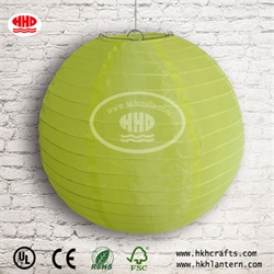 Chinese Paper Pendent Lampshades Round Hanging Fabric Lanterns For Wedding Christmas Decoration
