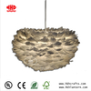 pendant model natural feather lampshade for home decoration