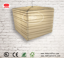 Wholesale Square White Bamboo Skeleton Paper Lantern
